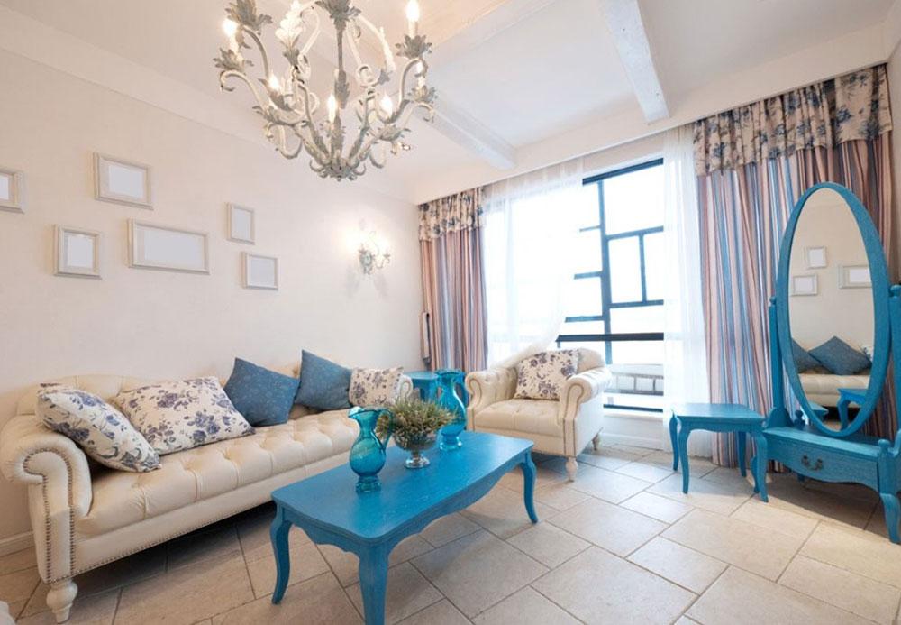 Стиль гостинная диван светлая  № 87381 загрузить
