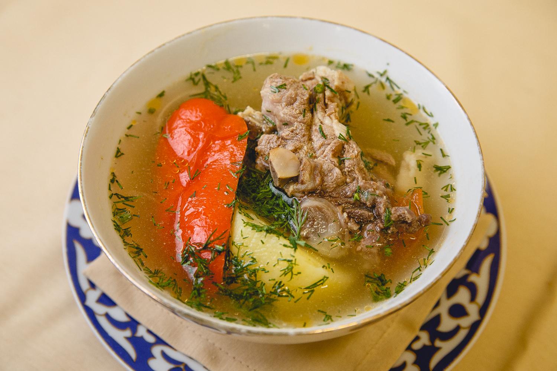 Шурпа из баранины по-узбекски пошаговый рецепт