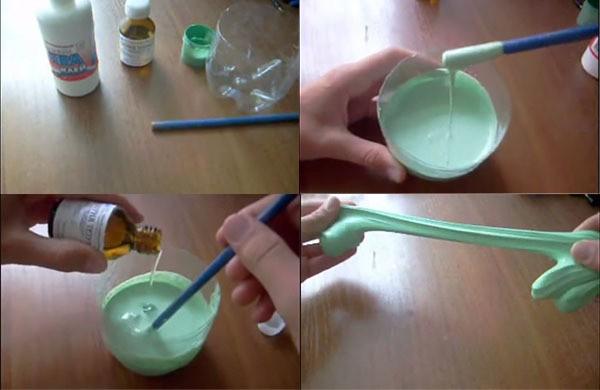 Тетраборат натрия лизун своими руками в домашних  499