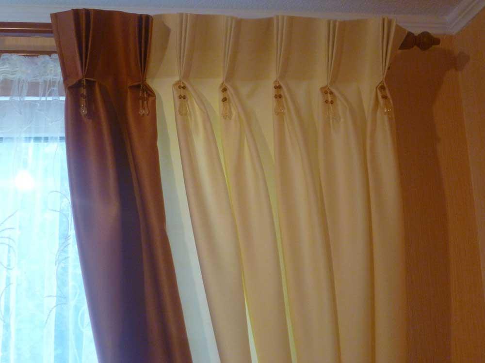 Как на шторах сделать складки